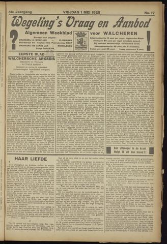Zeeuwsch Nieuwsblad/Wegeling's Nieuwsblad 1925-05-01