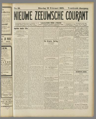 Nieuwe Zeeuwsche Courant 1918-02-12