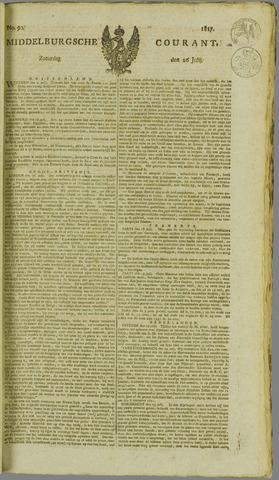 Middelburgsche Courant 1817-07-26