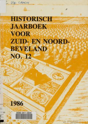 Historisch Jaarboek Zuid- en Noord-Beveland 1986-01-01