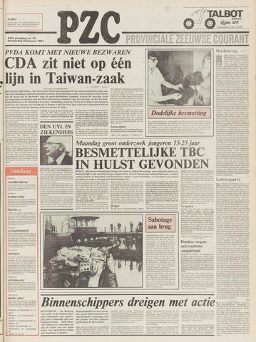 Provinciale Zeeuwse Courant 1981-01-29