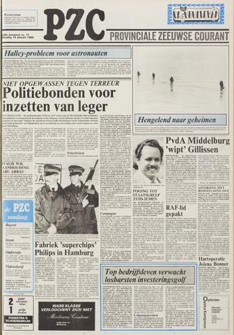 Provinciale Zeeuwse Courant 1986-01-14