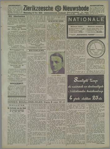 Zierikzeesche Nieuwsbode 1934-11-14