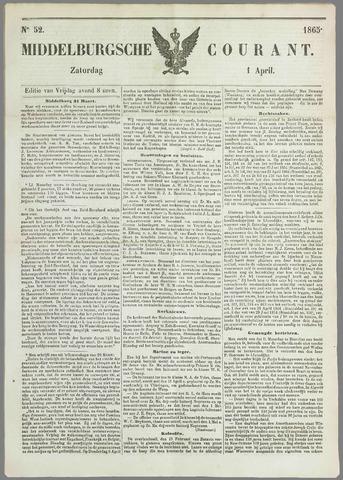 Middelburgsche Courant 1865-04-01
