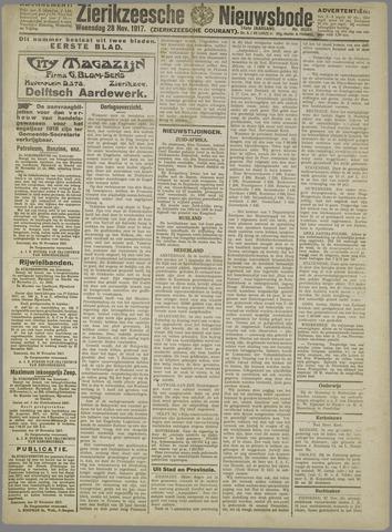 Zierikzeesche Nieuwsbode 1917-11-28