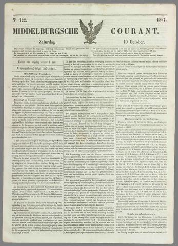 Middelburgsche Courant 1857-10-10
