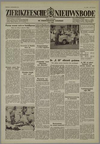 Zierikzeesche Nieuwsbode 1955-09-06