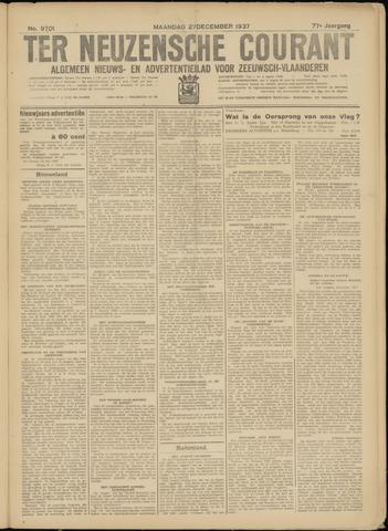 Ter Neuzensche Courant. Algemeen Nieuws- en Advertentieblad voor Zeeuwsch-Vlaanderen / Neuzensche Courant ... (idem) / (Algemeen) nieuws en advertentieblad voor Zeeuwsch-Vlaanderen 1937-12-27