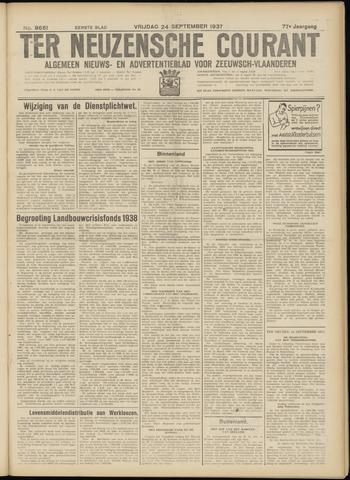 Ter Neuzensche Courant. Algemeen Nieuws- en Advertentieblad voor Zeeuwsch-Vlaanderen / Neuzensche Courant ... (idem) / (Algemeen) nieuws en advertentieblad voor Zeeuwsch-Vlaanderen 1937-09-24