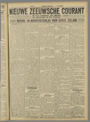 Nieuwe Zeeuwsche Courant 1926-04-20