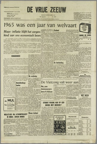 de Vrije Zeeuw 1965-12-31