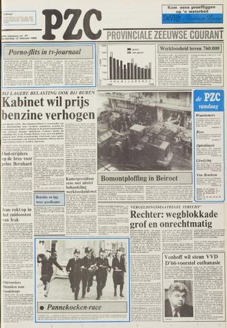 Provinciale Zeeuwse Courant 1986-02-13