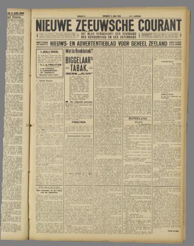 Nieuwe Zeeuwsche Courant 1925-06-09