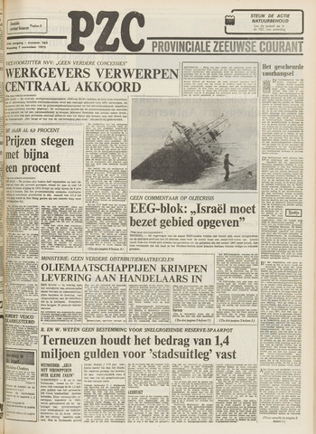 Provinciale Zeeuwse Courant 1973-11-07