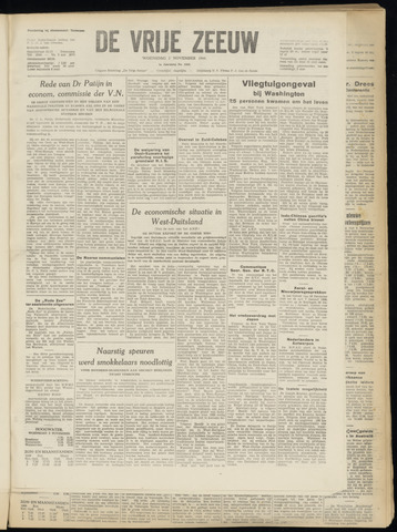 de Vrije Zeeuw 1949-11-02