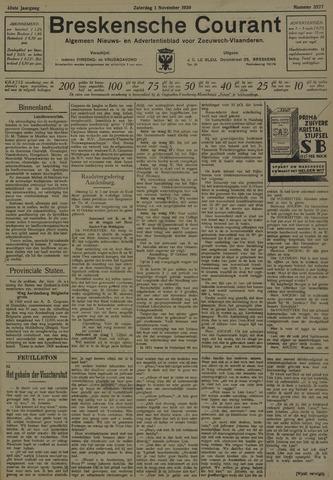 Breskensche Courant 1930-11-01
