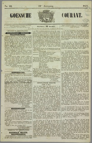 Goessche Courant 1857-03-16