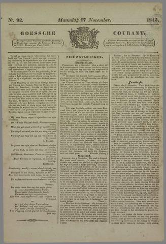 Goessche Courant 1845-11-17
