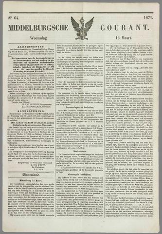 Middelburgsche Courant 1871-03-15