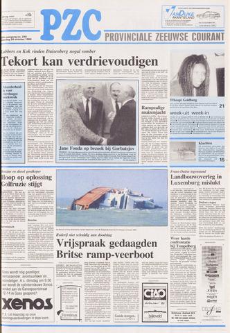 Provinciale Zeeuwse Courant 1990-10-20
