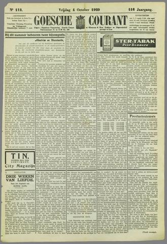 Goessche Courant 1929-10-04