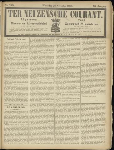 Ter Neuzensche Courant. Algemeen Nieuws- en Advertentieblad voor Zeeuwsch-Vlaanderen / Neuzensche Courant ... (idem) / (Algemeen) nieuws en advertentieblad voor Zeeuwsch-Vlaanderen 1890-11-26
