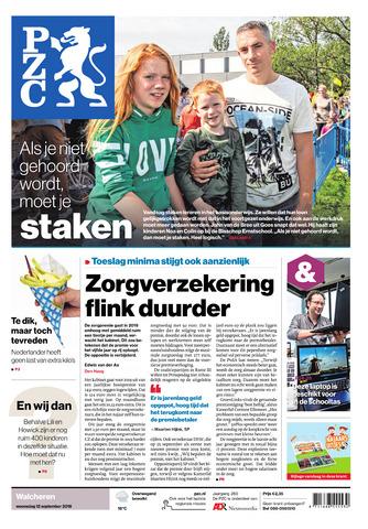 Provinciale Zeeuwse Courant 2018-09-12