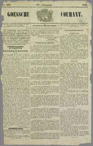 Goessche Courant 1857-12-31