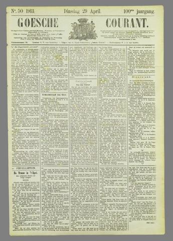 Goessche Courant 1913-04-29