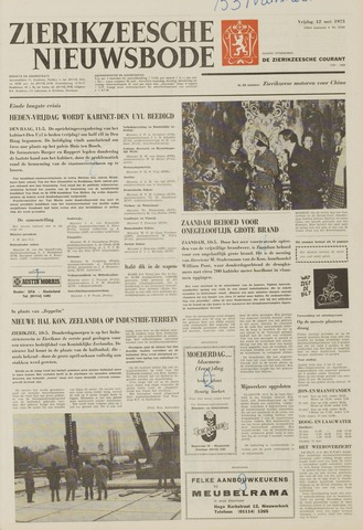 Zierikzeesche Nieuwsbode 1973-05-11