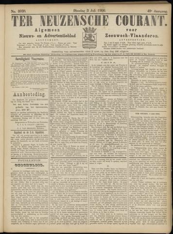 Ter Neuzensche Courant. Algemeen Nieuws- en Advertentieblad voor Zeeuwsch-Vlaanderen / Neuzensche Courant ... (idem) / (Algemeen) nieuws en advertentieblad voor Zeeuwsch-Vlaanderen 1900-07-03