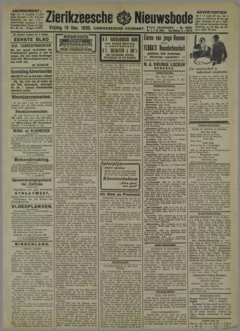 Zierikzeesche Nieuwsbode 1930-12-19