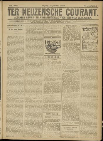 Ter Neuzensche Courant. Algemeen Nieuws- en Advertentieblad voor Zeeuwsch-Vlaanderen / Neuzensche Courant ... (idem) / (Algemeen) nieuws en advertentieblad voor Zeeuwsch-Vlaanderen 1926-01-29
