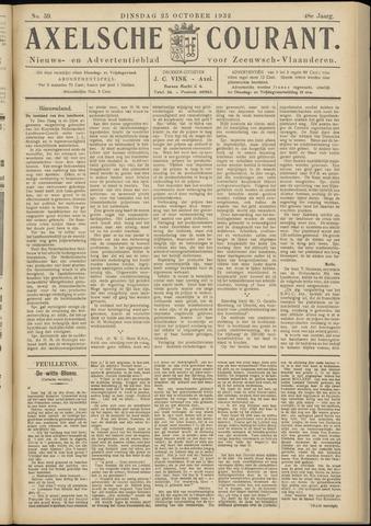 Axelsche Courant 1932-10-25