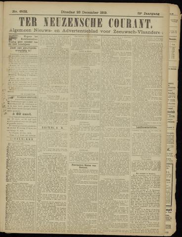 Ter Neuzensche Courant. Algemeen Nieuws- en Advertentieblad voor Zeeuwsch-Vlaanderen / Neuzensche Courant ... (idem) / (Algemeen) nieuws en advertentieblad voor Zeeuwsch-Vlaanderen 1919-12-23