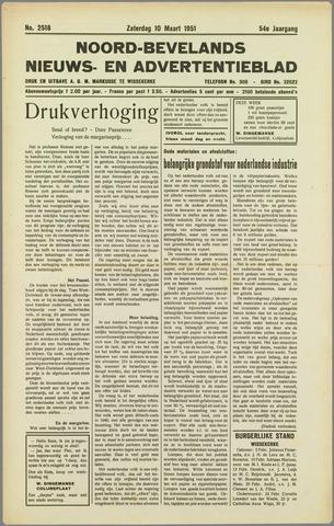 Noord-Bevelands Nieuws- en advertentieblad 1951-03-10