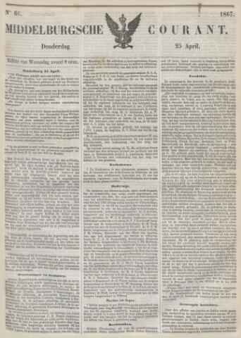 Middelburgsche Courant 1867-04-25