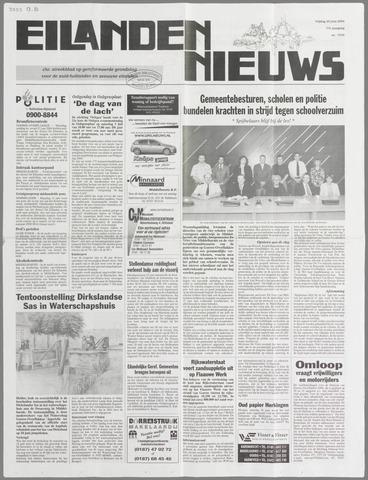 Eilanden-nieuws. Christelijk streekblad op gereformeerde grondslag 2004-06-25