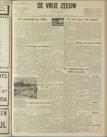 de Vrije Zeeuw 1962-11-05