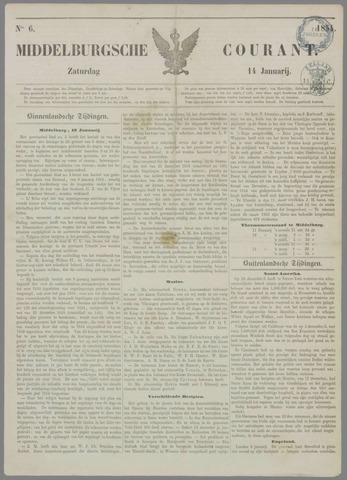 Middelburgsche Courant 1854-01-14