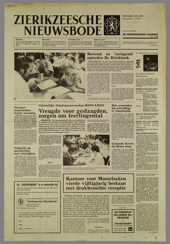 Zierikzeesche Nieuwsbode 1985-07-01