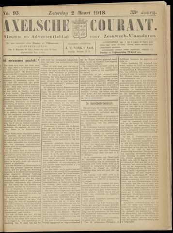 Axelsche Courant 1918-03-02