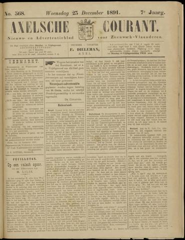 Axelsche Courant 1891-12-23