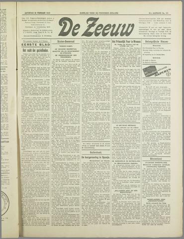 De Zeeuw. Christelijk-historisch nieuwsblad voor Zeeland 1937-02-13
