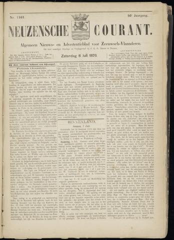 Ter Neuzensche Courant. Algemeen Nieuws- en Advertentieblad voor Zeeuwsch-Vlaanderen / Neuzensche Courant ... (idem) / (Algemeen) nieuws en advertentieblad voor Zeeuwsch-Vlaanderen 1876-07-08