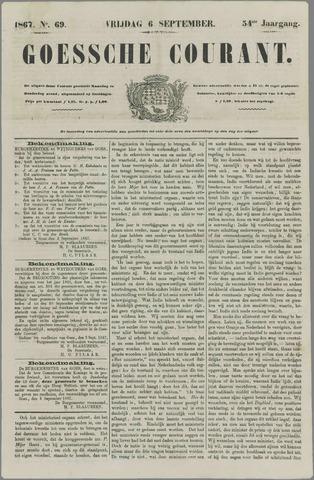 Goessche Courant 1867-09-06