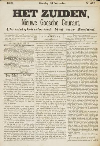 Het Zuiden, Christelijk-historisch blad 1880-11-23