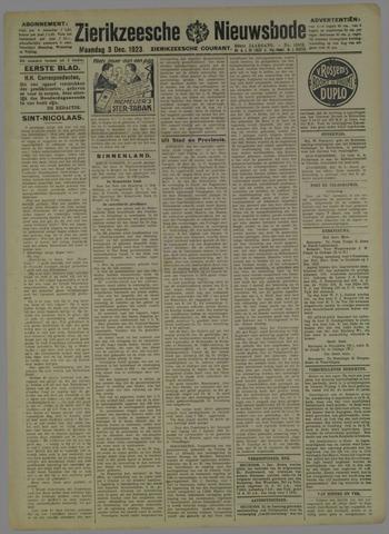 Zierikzeesche Nieuwsbode 1923-12-03