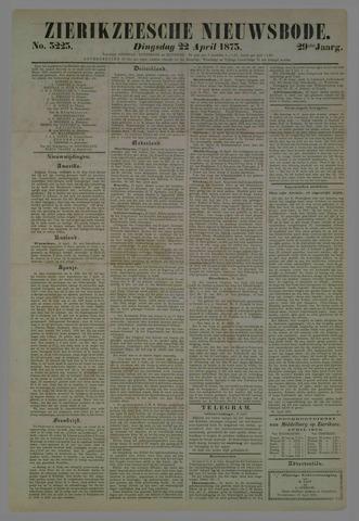 Zierikzeesche Nieuwsbode 1873-04-22