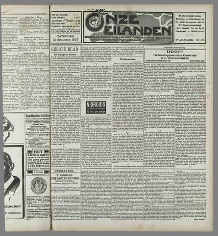 Onze Eilanden 1927-08-13